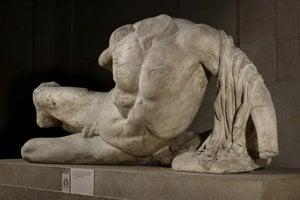 Grécka socha.