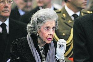 Kráľovná Fabiola.