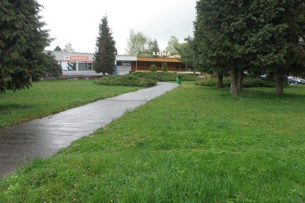 O park sa začne starať mesto.