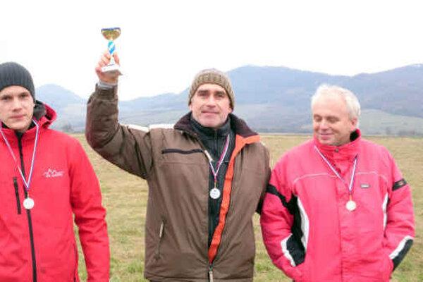 Milan Minárik s trofejou.