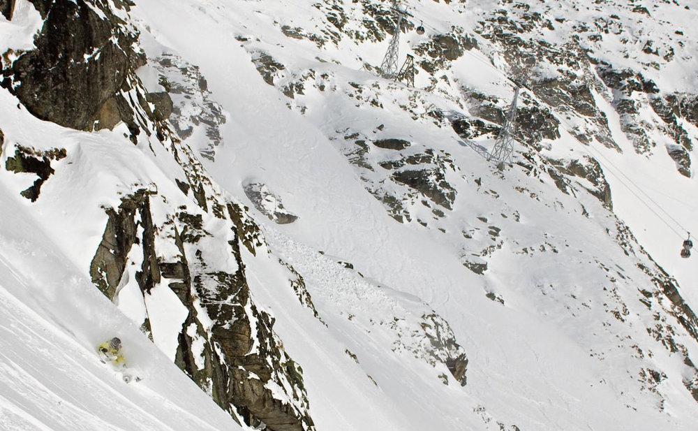 V Nízkych Tatrách v Derešoch zišiel svah so sklonom 56 percent.