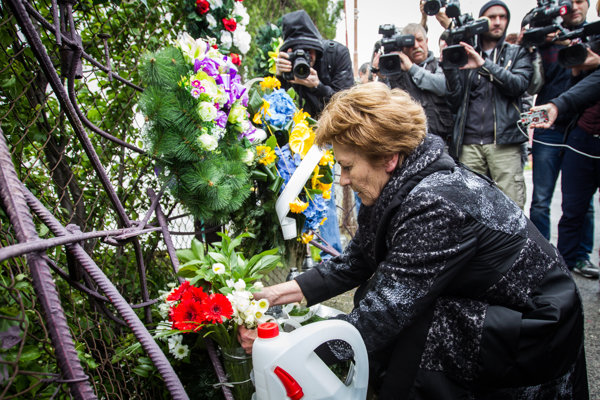 Matka Róberta Remiáša si pripomína jeho pamiatku.
