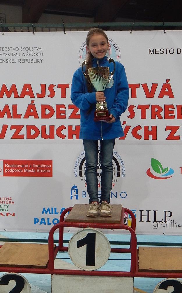Klárka Urbaníková získala okrem titulu majsterky Slovenska aj Cenu primátora mesta Brezno.