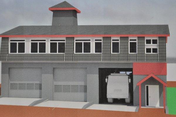 Takto bude vyzerať nová hasičská zbrojnica.