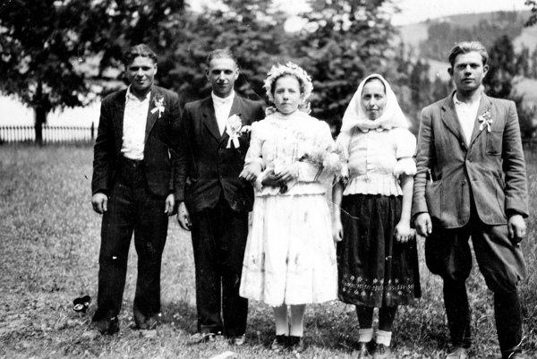Lesňanská svadba.
