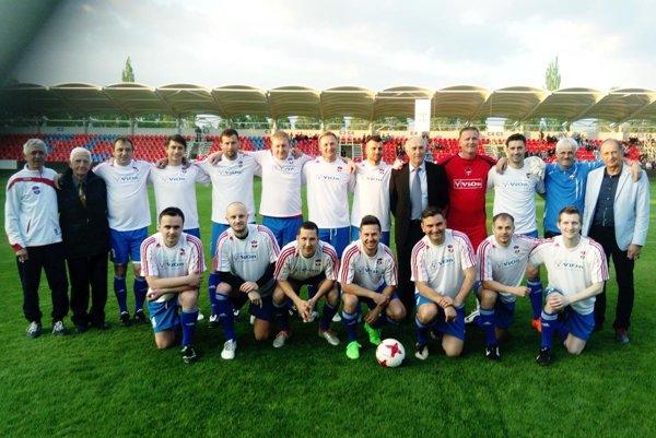 Stretávka víťazov Slovenského pohára z roku 2007 sa vydarila.