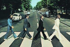 Najslávnejšia zebra na svete. Obal albumu Abbey Road bol jediným, na ktorom kapela neuviedla svoj názov alebo názov albumu.