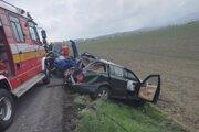 Pri dopravnej nehode medzi Ležiachovom a Turčianskym Ďurom sa zranilo až päť ľudí.