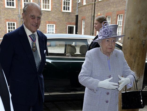 Princ Philip s kráľovnou Alžbetou.