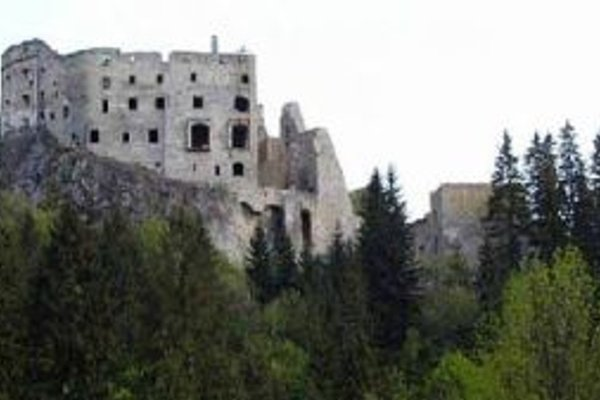 Hrad Likava pri Ružomberku.