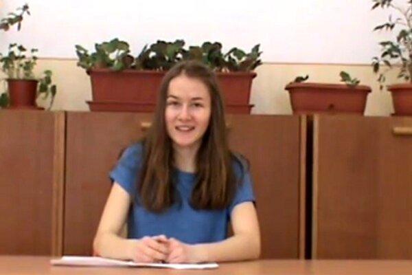 Šárka Mičková zaujala odbornú porotu s prednesom v ruskom jazyku.