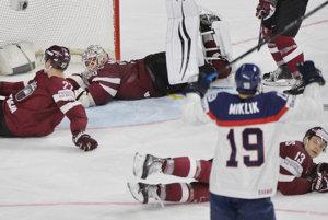 Slováci strelili Lotyšom iba jeden gól. Je za tým aj prílišné kombinovanie.