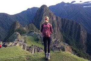 Natália Pavlovičová nemohla obísť ani Machu Picchu.