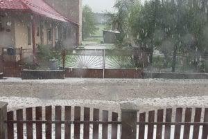 Po búrke v Sabinove.