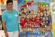 Jana Madajová vyšila obraz, na ktorom je veľa Liptákov. Má rozmery 100 x 120 cm a pracovala na ňom 16 mesiacov. Uvidia ho v Bratislave, Nemecku a iných krajinách, možno aj v Afrike.