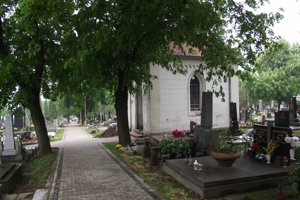Kaplnka na mestskom cintoríne.