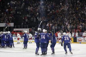 Hokejisti Francúzska zvíťazili nad Bieloruskom po samostatných nájazdoch.
