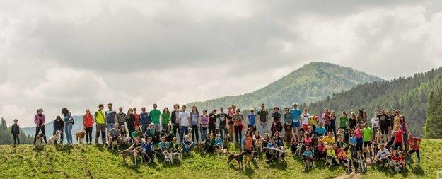 Účastníci podujatia v Rajci.
