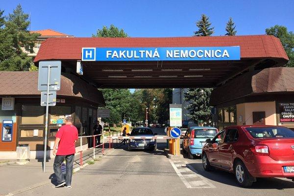 Parkovanie bude pre pacientov a doprovod zadarmo.