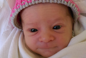 Prvým slniečkom v rodine Moniky a Martina z Nižnej je ich dcérka. SOFIA PAULÍNYOVÁ prišla na svet 2. mája, vážila 2800 g a merala 47 cm.