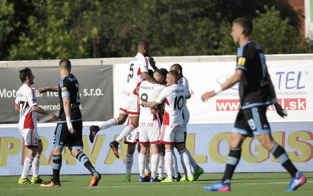 Trenčín doma zdolal druhý Slovan. Stále tak bojuje o pohárovú Európu.