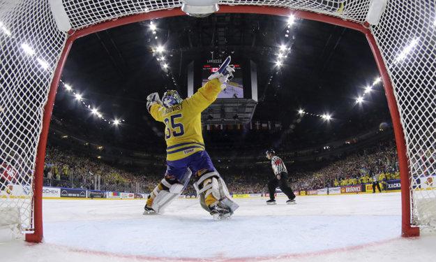 Reakcia Henrika Lundqvista po skončení duelu.