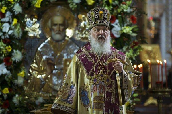 Patriarcha Moskvy a celej Rusi Kirill.