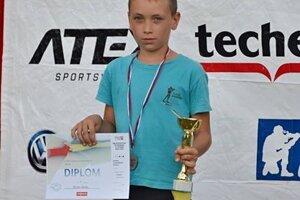Martin Maťko, biatlonový talent z Turca.