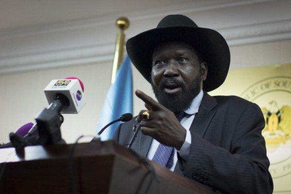 Prezident Kiir.