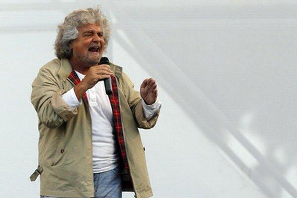 Beppe Grillo.