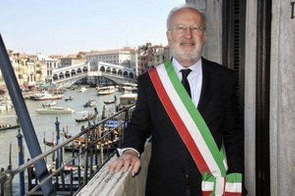 Starosta Benátok Giorgio Orsoni.
