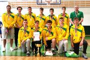 Basketbalisti ŠBK Junior Levice U15 si na záverečnom turnaji vŽiline vybojovali druhé miesto.