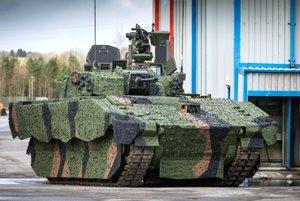 Britské bojové vozidlo Ajax.