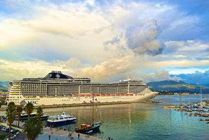 Prehľad populárnych turistických prístavov v Európe.