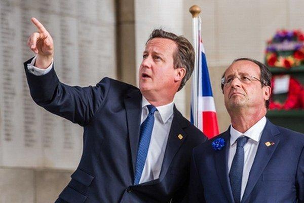 Cameron a Hollande.