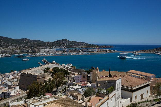Ibiza, Španielsko.