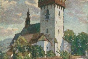 Kostol na dobových pohľadniciach