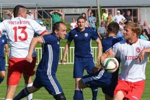 Šimonovany doma porazili Partizánske 1:0.