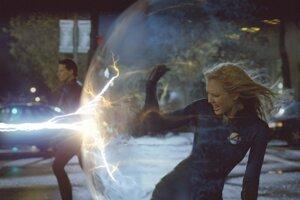 Jessica Alba ako Sue Storm vo filme Fantastická štvorka.