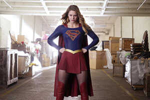 Televízny seriál Supergirl v hlavnej úlohe s Melissou Benoist.