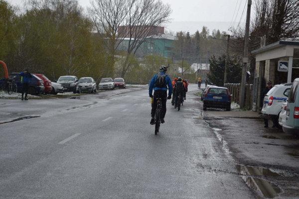 Cyklisti na poznávacej jazde EuroVelo 11.