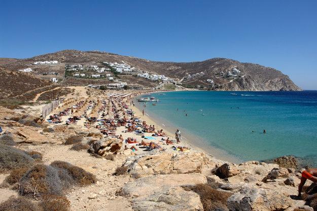 Grécko, ostrov Mykonos.