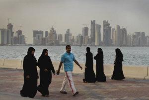 Katarská Dauha je jedným z najbohatších miest sveta.