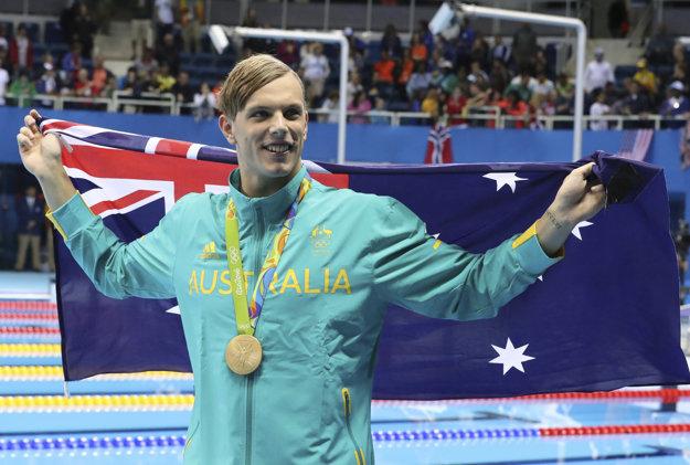 V Riu de Janeiro získal Kyle Chalmers zlatú olympijskú medailu na 100 metrov voľným spôsobom.