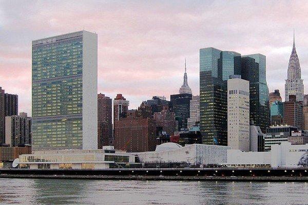 Sídlo OSN v New Yorku.