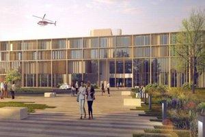 Takto by mala vyzerať nová nemocnica na Malej hore.