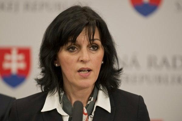 Renáta Kaščáková.