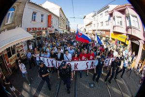 Veľký protikorupčný pochod.