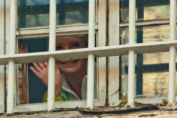 Tymošenkovú väznia v Charkove.