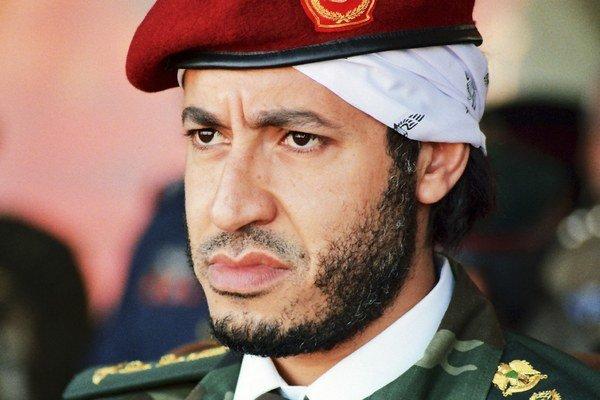 Syn bývalého líbyjského diktátora Muammara Kaddáfího Sádí Kaddáfí.